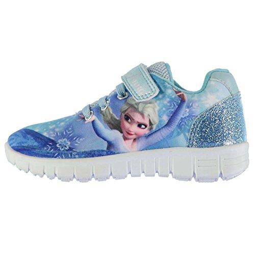 Character Run Kinder Turnschuhe Sneaker Motiv Elastische Schnuersenkel Schuhe Frozen