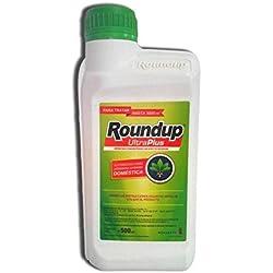 Roundup UltraPlus 500 ml herbicida concentrado sin efecto residual para 3000m