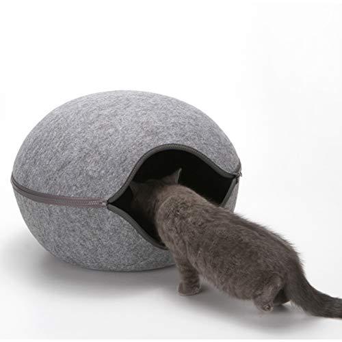 Cat Cave Bed El Orificio Gatos Ecológico Se Siente