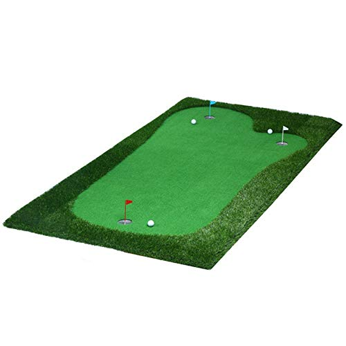 WyaengHai Indoor grün Golf Putter Green System Professionelle künstliche tragbare grüne Mini Indoor Putter Exerciser Umwelt Oak Valley Green Golfmatte (Farbe : Project, Größe : 2 * 4m) -