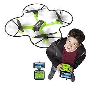 Silverlit-15606-Drone con cámara para Vista en Immersion-Spy Racer FPV WiFi-4Canales Gyro 2,4GHz