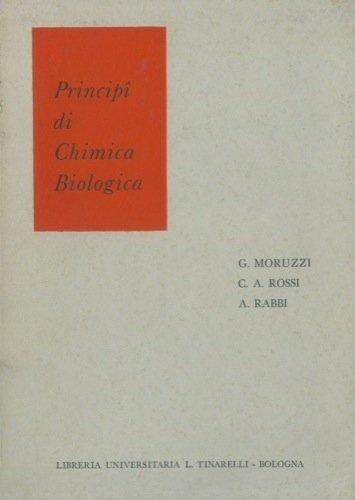 Principi di chimica biologica.