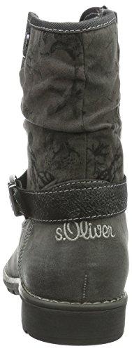s.Oliver 45400, Bottes Classiques Fille Gris (Grey 200)