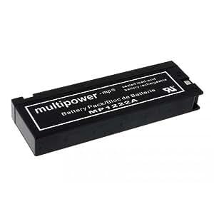 Batterie pour Panasonic modèle LC-SA122R3AU, 12, Lead-Acid [ Batterie pour caméscope ]