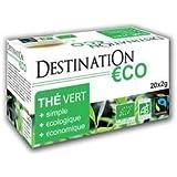 Thé Vert bio Nature Ceylan Bio équitable - 20 x 2g