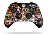 #1: The grafix Studio Comics Superhero Xbox One Remote Controller/Gamepad Skin/Cover/Vinyl Xb1R8