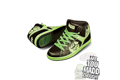 Madd Gear Pro MGP Shreds Chaussures de sport Rouge/noir Multicolore - Black & Green
