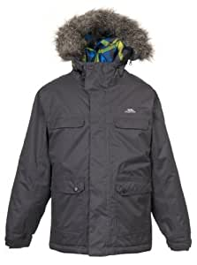 Trespass Boy's Ralston Ski Jacket - Flint, 2-3 Years