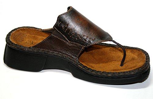 NaotZen - Pantofole Donna Marrone (Bronze)