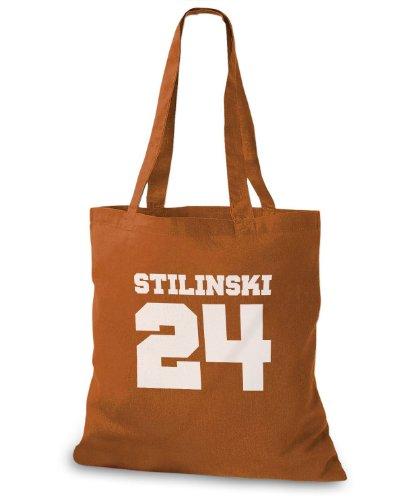 StyloBags Jutebeutel / Tasche Stilinski 24 v1 Choco