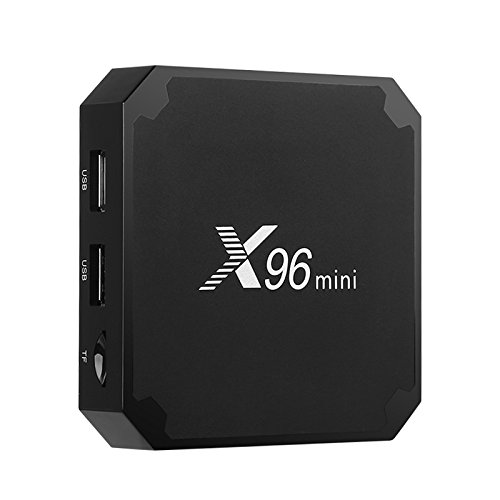 X96 Mini TV Box 3D Media Support 4K WiFi Quad-Core CPU Kodi 17 DNLA Android 7.1