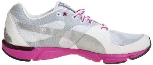 Puma Formlite Xt Wn's, Chaussures de Fitness femme Blanc - Weiss (white-quarry-rose violet 3)