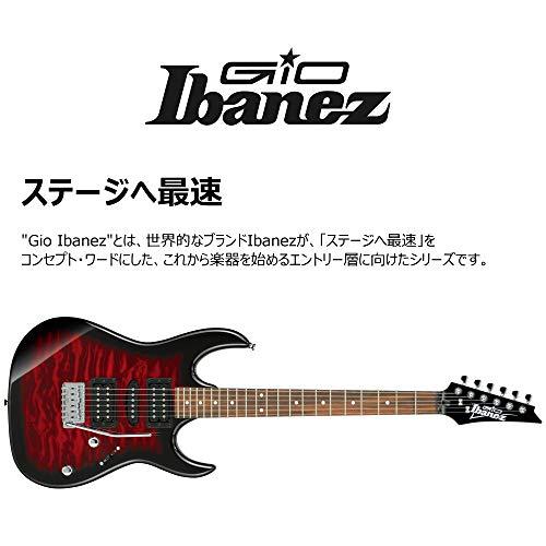 Ibanez GRX70QA-TRB Guitare électriques Métal/Moderne, Rouge