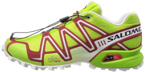 SALOMON Speedcross 3 Scarpa da Trail Running Uomo, Verde, 41 1/3 41 EU