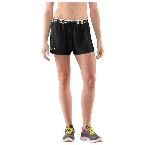 Under Armour Play Up Short Femme Noir/Blanc/Blanc