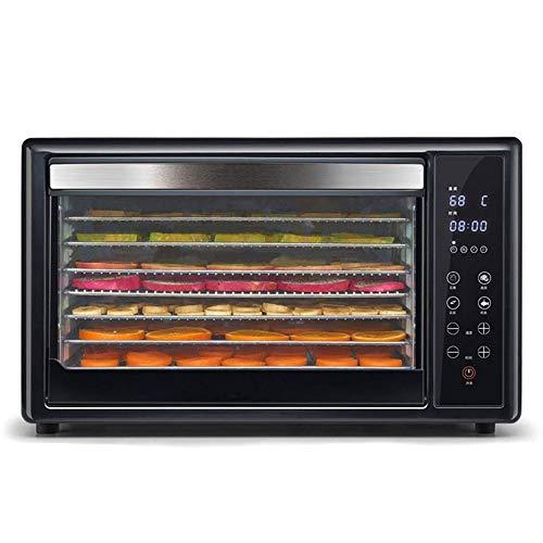 Yyqttsj Haushalts-Dörrgerät, großer Fruchtfleischtrockner, fünfschichtiges Tablett mit digitaler Temperaturregelung und Timer-Temperaturregler 38-78 ° C