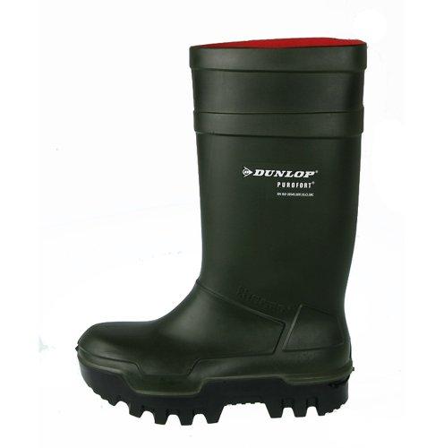 Dunlop Thermo Plus PU-Stiefel - Winterstiefel - dunkelgrün (43 (9))