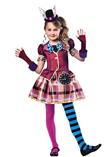 ad Hatter Kostüm Medium (7-8 years) (Miss Mad Hatter)