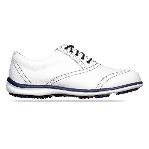 Footjoy, Schuh, Damen, Casual Collection, Weiß/Marine