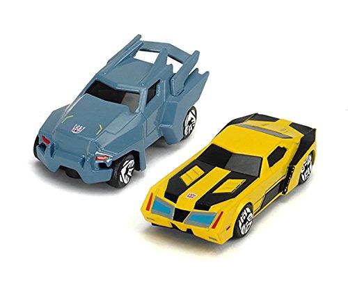 Dickie Toys 203112000313 - Robots in disguise, Transformers zweiteiliges Fahrzeug Set