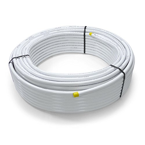 Pipetec Aluverbundrohr Aluminium Mehrschichtverbundrohr 20x2 mm 100m weiss PEX-Rohr Alu-Mehrschicht-Verbundrohr MV-Rohr Mehrschichtrohr Heizung Wasser -
