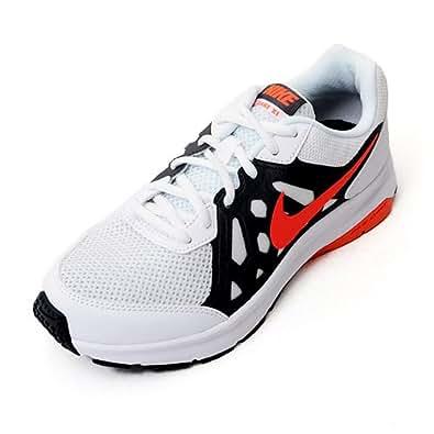 Nike Women's Dart 11 Msl White, Hot Lava, Dark Grey and White Running Shoes - 4 UK/India (36.5 EU)(4.5 US)