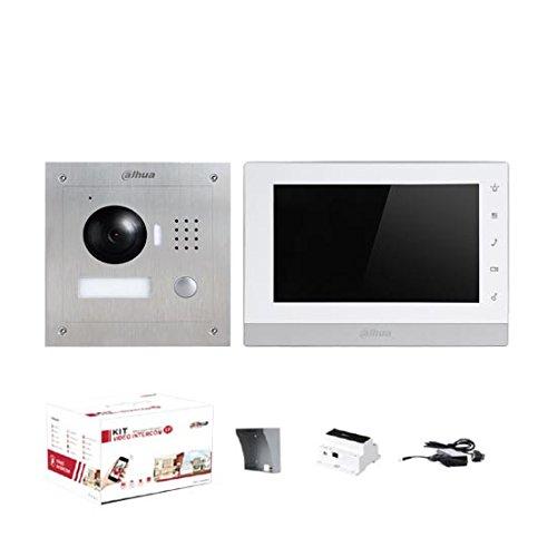 """Dahua 7\"""" Einfamilienhaus-Video-Türsprechanlage IP 2-Draht  Touch, 1.3Mpx 720p"""