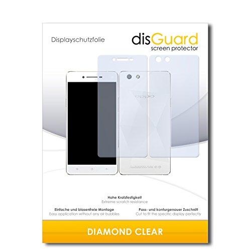 3 x disGuard® Schutzfolie Oppo R1C Bildschirmschutz Folie