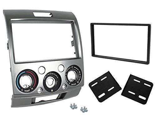 Facade autoradio 2DIN pour Ford Ranger Mazda BT-50 07-12 - ADNAuto
