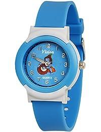 Vizion Analog Sky-Blue Dial (Little Krishna- Butter Stealing ) Cartoon Character Watch for Kids- 8811-8-2