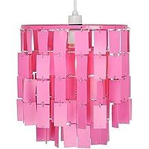 minisun moderna y glamurosa pantalla para lmpara de techo rosa y redonda de