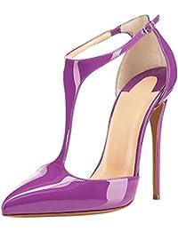 uBeauty - Escarpins Femmes - Chaussures Stilettos - Talon Aiguille - Grande Taille - Escarpins Salomés