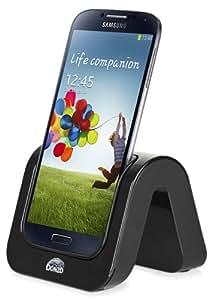 DONZO® Dockingstations für Samsung Galaxy S4 - SUPER WAVE - schwarz