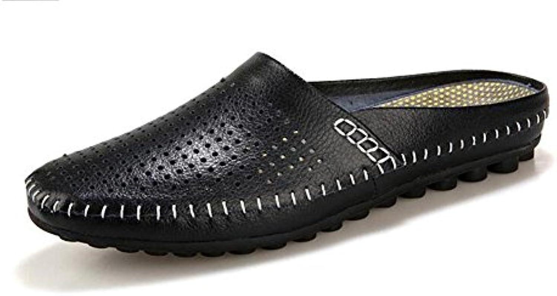 Hombres Ponerse Holgazanes Mocasines Calza Los Zapatos Ocasionales De Los Deslizadores Del Verano 2017 Que Perforan
