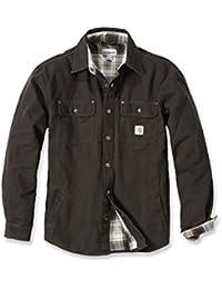 Abbigliamento da lavoro e divise Abbigliamento tela trattata giacca shirt Carhartt camicia da lavoro
