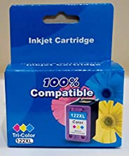 Compatible Ink Cartridges - for HP 122 XL - Color