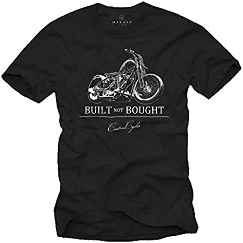 dia del orgullo friki Built Not Bought - Camisetas moteras hombre