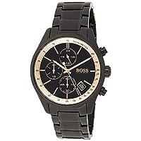 Hugo Boss Unisex-Adult Chronograaf Quartz Horloge met RVS Band 1513578
