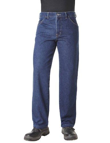PIONIER WORKWEAR Herren 5-Pocket-Jeans ohne Zollstocktasche in blau (Art.-Nr. 325) blue,Größe 60 (Jean 5-pocket-arbeit)