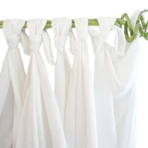 Babymajawelt Couches en mousseline de bambou Blanc perle 70 x 80 cm