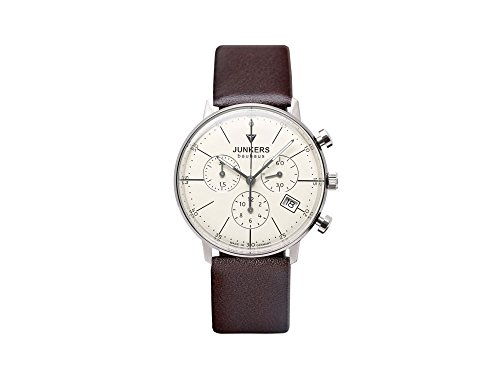 Junkers Women's Quartz Watch with Chronograph Quartz Leather 60895