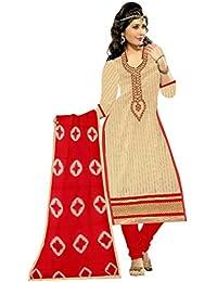 Mahi Fashion Women's Cotton Dress Material (MF32_Free Size_Multi-Coloured)
