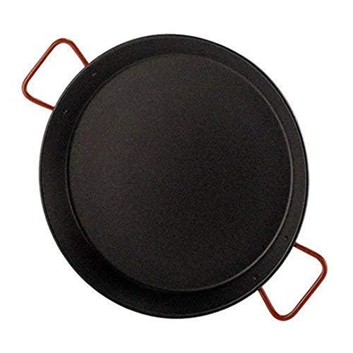 Garcima Paellera Valenciana, Acero, Negro/Rojo, 55 cm, 6 Pack