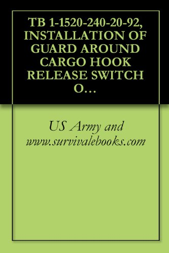 TB 1-1520-240-20-92, INSTALLATION OF GUARD AROUND CARGO HOOK RELEASE SWITCH ON WINCH/HOIST OPERATORS GRIP ASSEMBLY PN 114ES250-2 FOR ALL CH-47D, MH-47D, ... Army Field Manuals (English Edition) -