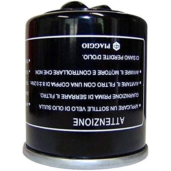 Fuoco Beverly-gilera 500 Nexus Filtro Olio maxiscooter Originale 400-500 mp3 x8 x9 x10 PIAGGIO