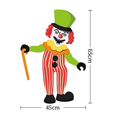 FXCCHEN Halloween Dekoration Eignet Sich Für Bar Kindergarten Klassenzimmer Szene Layout Anhänger, C