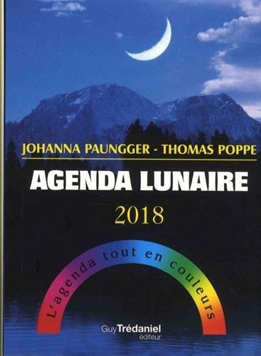 Agenda lunaire : L'agenda tout en couleurs