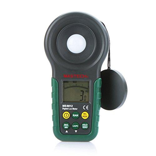 KKmoon Professionale in un unico pezzo digitale ad alta precisione esposimetro 200000lux multi-funzionale Illuminometer Luxmetro