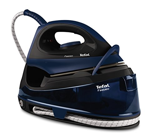 Tefal SV6050 Fasteo Steam Generator, 2200 W, Black/Blue Best Price and Cheapest