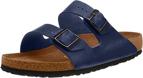 Birkenstock Herren Arizona 51751 Pantoletten, Blau (Blau), 41 EU